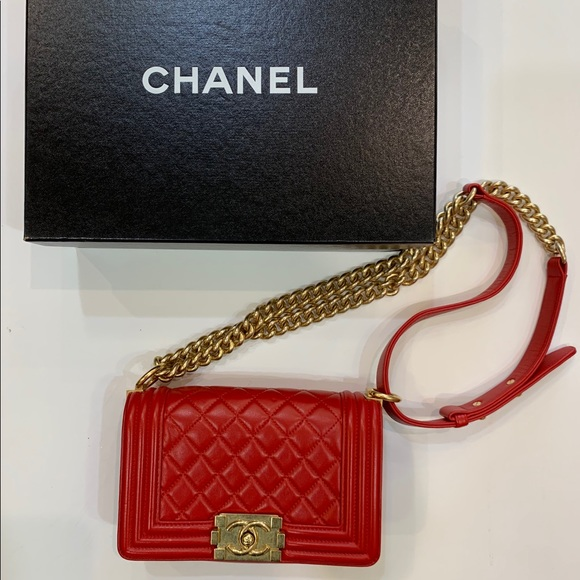 CHANEL Handbags - SOLD SOLD SOLDChanel Boy Bag Small